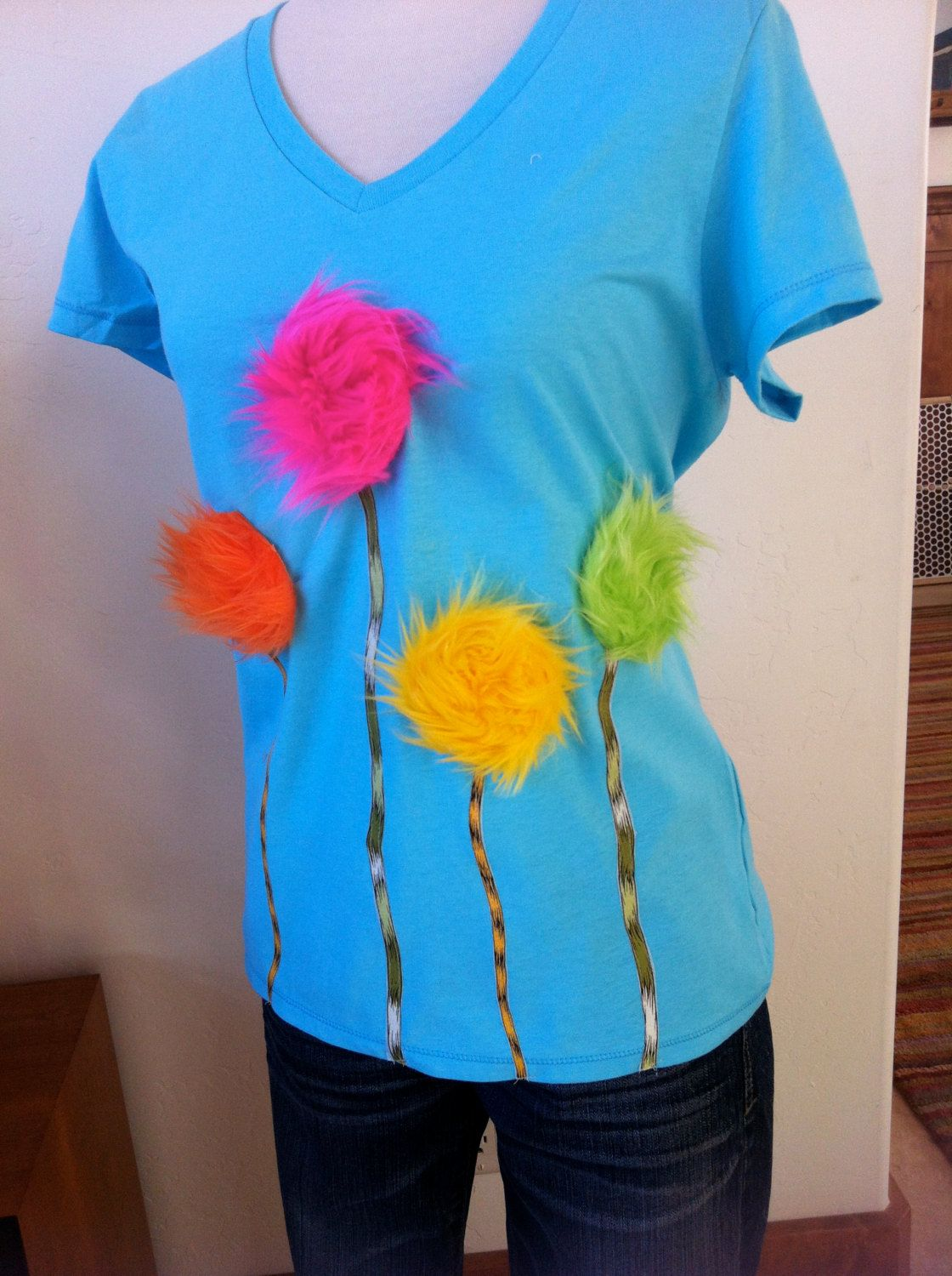 The Lorax Truffula Trees Mommy shirt. $24.00, via Etsy.