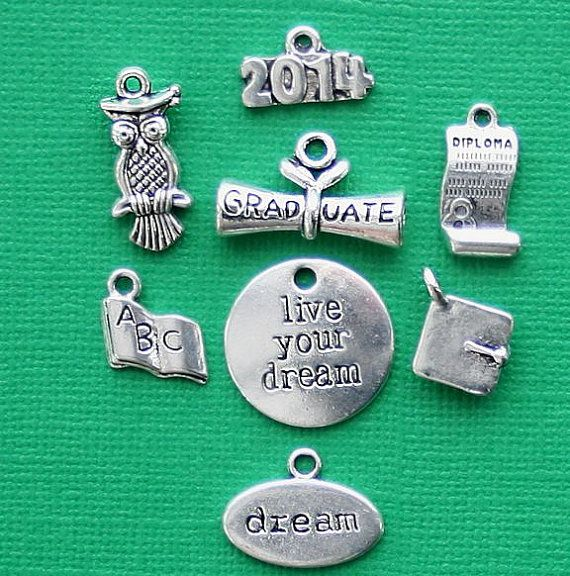 Graduation Charm Collection Antique Tibetan by