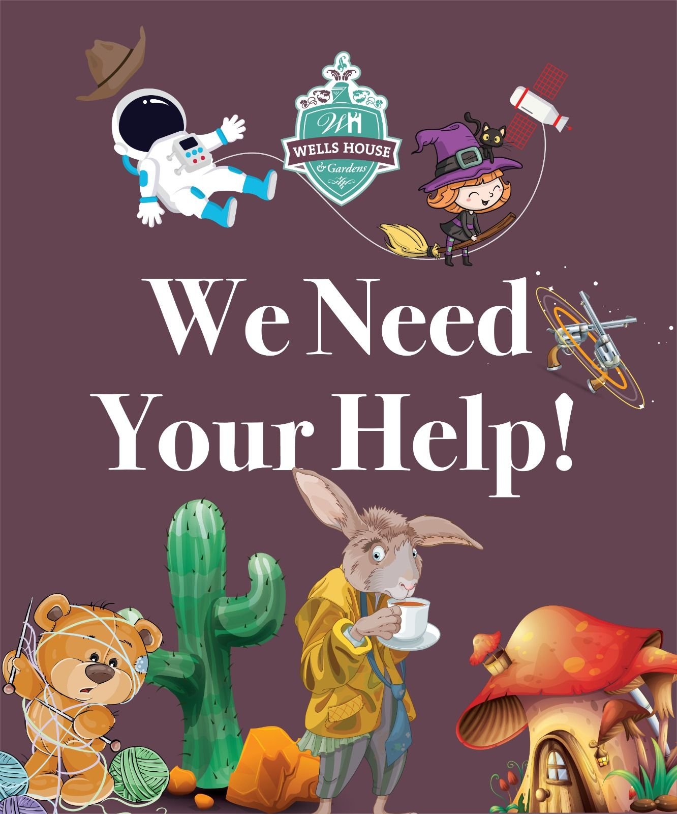 We need your help! Have you or your family got a
