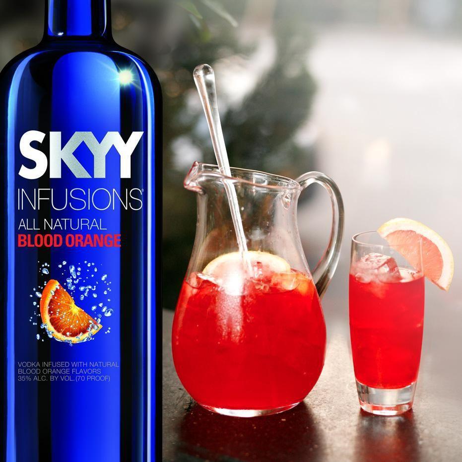 Skyy Vodka Blood Orange Recipes