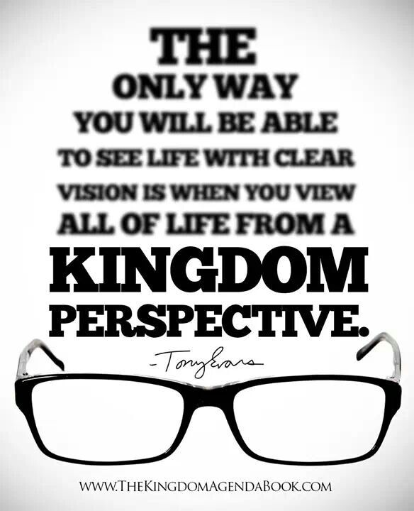 "Quotes About Vision Beauteous To See With Clear Vision."" Quotetony Evans Kingdom Agenda"