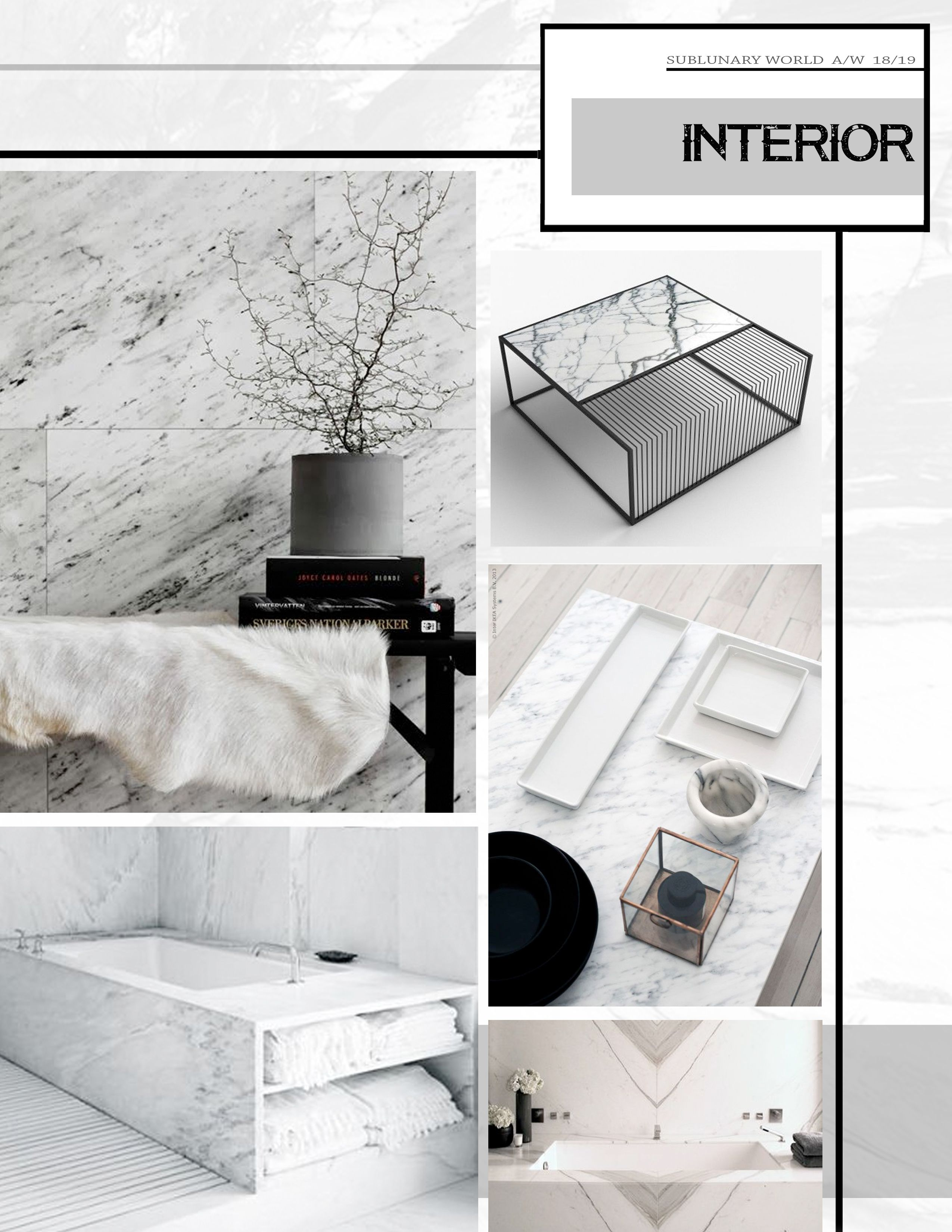 Interior Design Homes Winter 2019: The Trend Book Focuses Of The Trend Forecasting For Autumn Winter 2018 / 2019