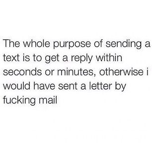 """IT'S CALLED """"REPLYING."""" 