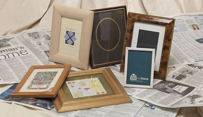How To Spray Paint Picture Frames Rustoleum Spray Paint Www