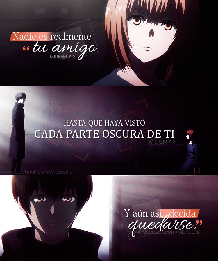 Tokyo Ghoulre Frases De Anime Animequotes Tokyoghoul