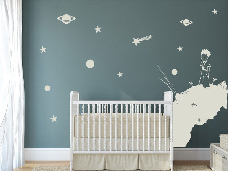 Magic stickers sticker d coratif mural sticker le petit prince 2 anniversaire alois - Poster decoratif mural ...