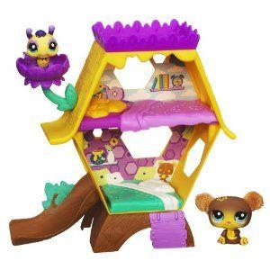 Littlest Pet Shop Cozy Condo Honey Hideaway With Images Little Pet Shop Toys Pet Shop Little Pets