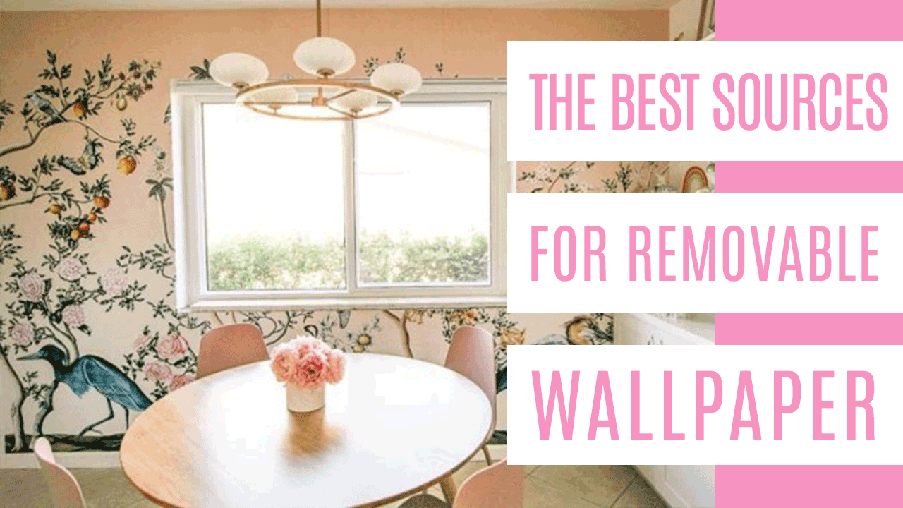 Best Sources For Removable Wallpaper At Home With Ashley In 2020 Removable Wallpaper Banquette Seating Decorating Blogs