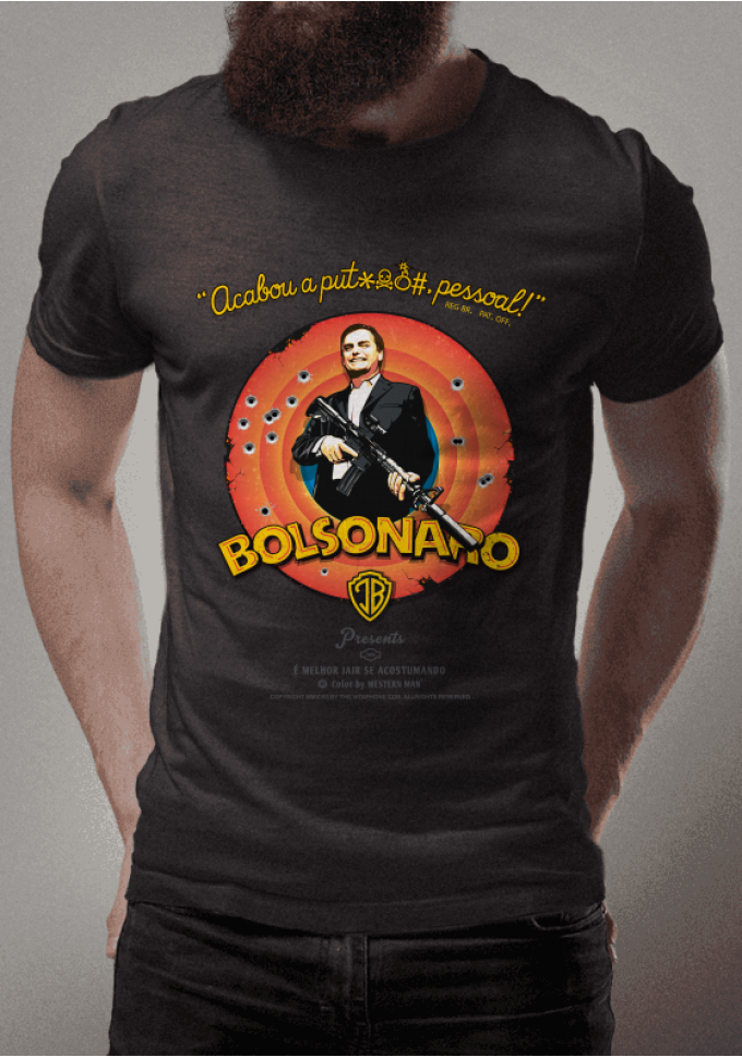 Jair Bolsonaro Mito Acabou A Palhaçada é Melhor Jair Se