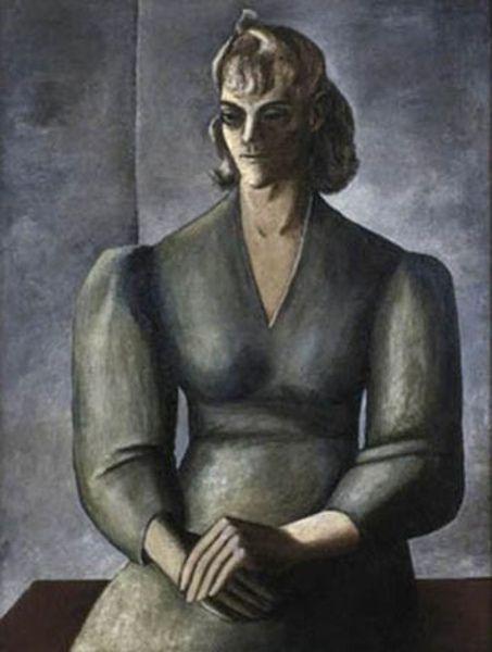 American Gallery 20th Century Portrait Artist Self Portrait