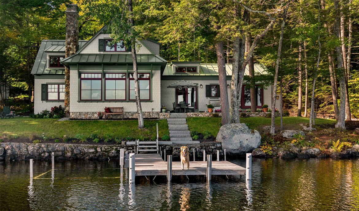 A Tiny But Charming Summer Cottage In Maine Cottage Journal Cottage House Exterior Cottage Exterior Cottage Style Homes