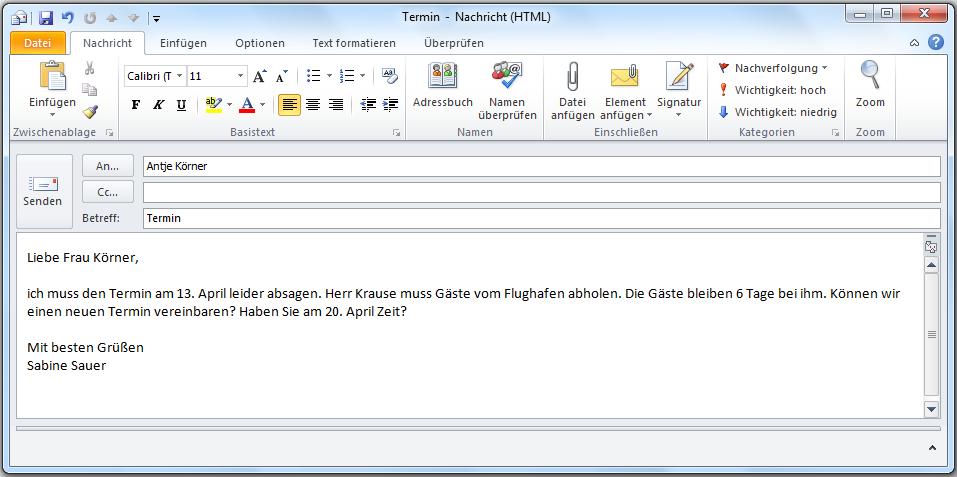 Slikovni rezultat za Briefe schreiben Deutsch Briefe