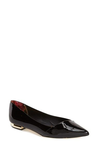 ae94964ed Ted Baker London 'Pasces' Pointy Toe Flat (Women) available at #Nordstrom