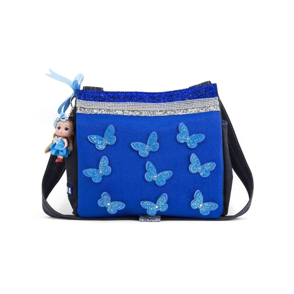 5b984c76f60 Zebra tas Canvas kindertas Vlinder Blauw Doll | Verlanglijst Hannah ...