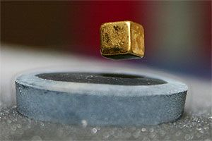 Superconductors are cool! Superconductors have no electric resistance and can make certain metals float.