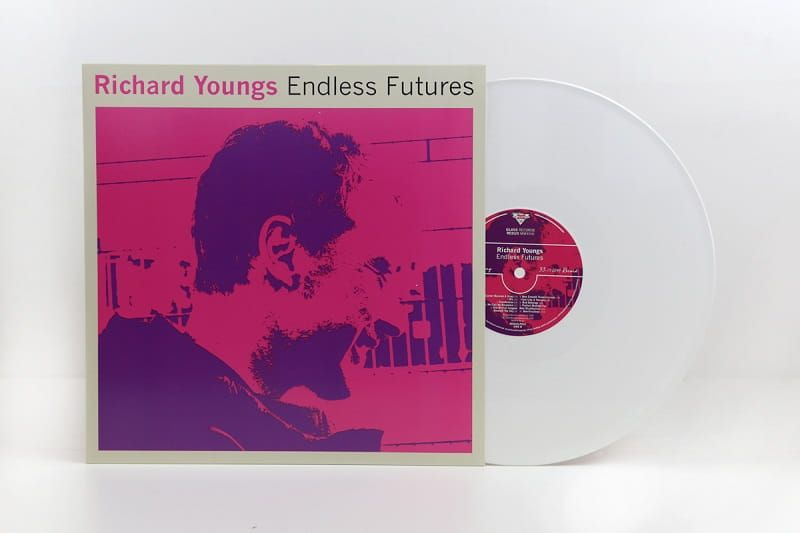 Richard Youngs Endless Futures Lp Single Glass Records Redux Manufactured By Key Production Vinyl Vinylrecord Vinylp Vinyl Records Vinyl Record Store