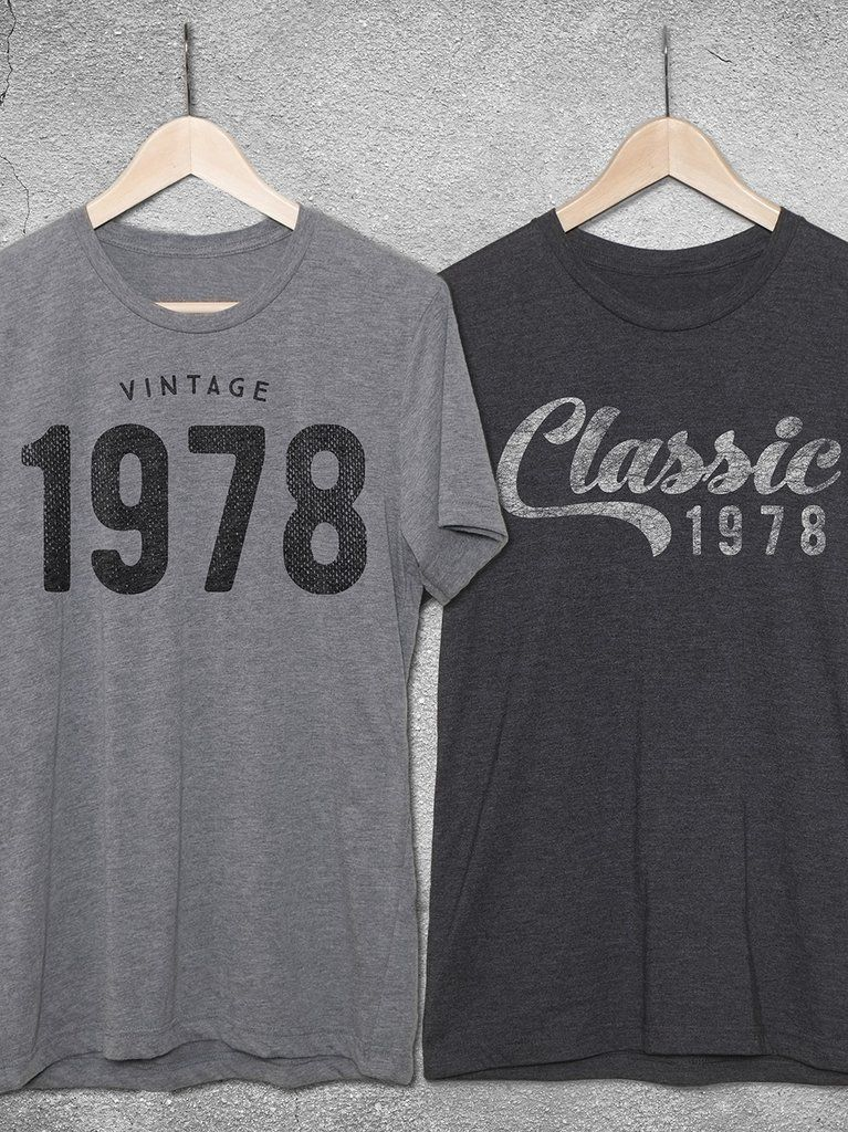 Vintage 1978 Classic T Shirt In 2019