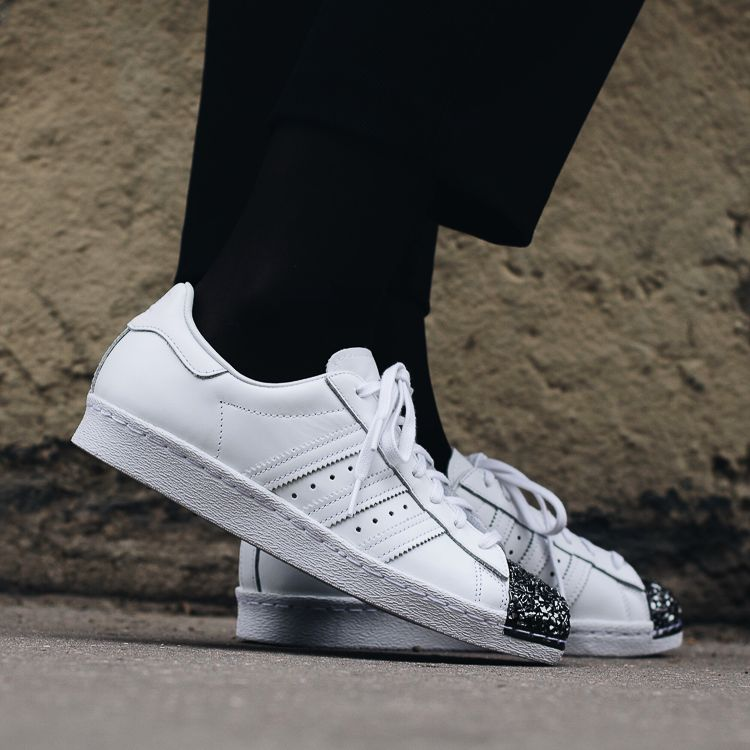 Adidas Originals Superstar 80s metal blanco Zapatillas Mujer