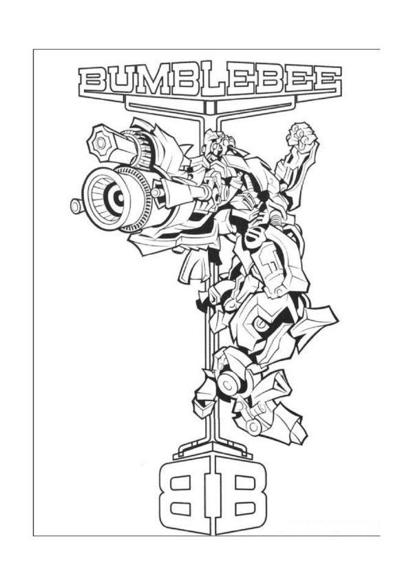 Transformers Ausmalbilder Malvorlagen Zeichnung Druckbare Nº 15