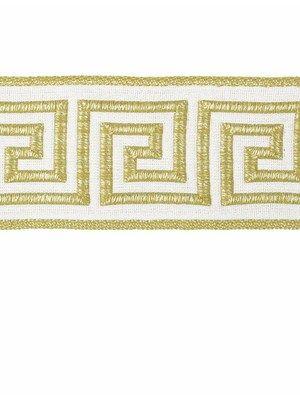 Robert Allen Trim Greek Key Braid In Sunray Yellow Interiordesign