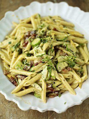 Beautiful Courgette Carbonara Recipe Food Recipes Pasta