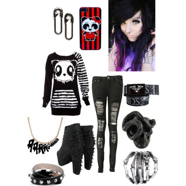 Emo clothes store