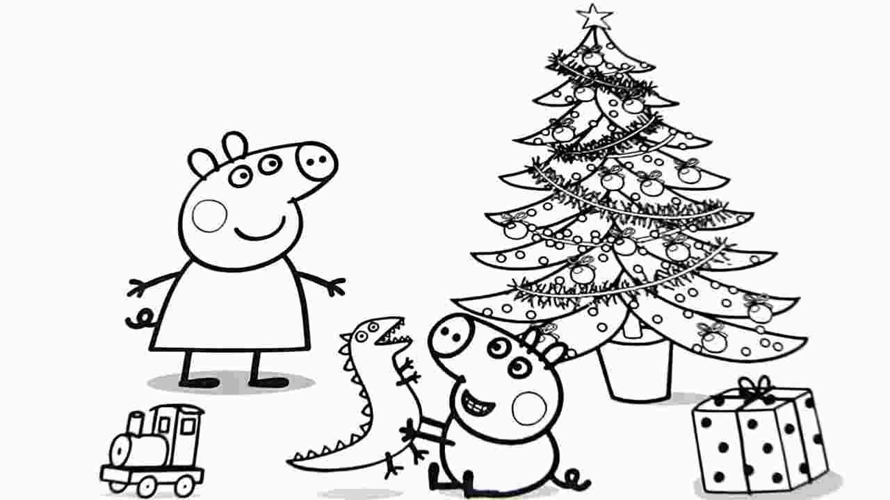 Free Peppa Pig Christmas Colouring Pages Peppapig Free Peppa Pig Christmas Colouring Pages Pilatescourses Peppa Pig Coloring Pages Christmas Coloring Sheets Christmas Coloring Printables
