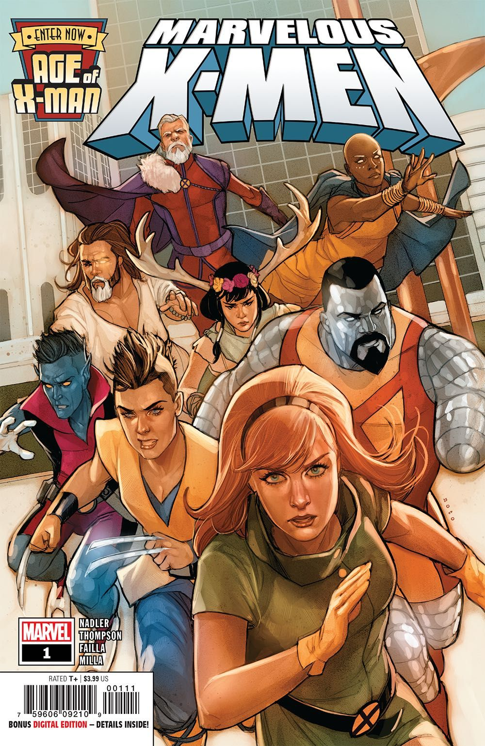 Enter The Age Of X Man The Perfect Heroes For A Perfect World The X Men Have Helped Make The World Into A Utopia Where Living In Fear And X Men X