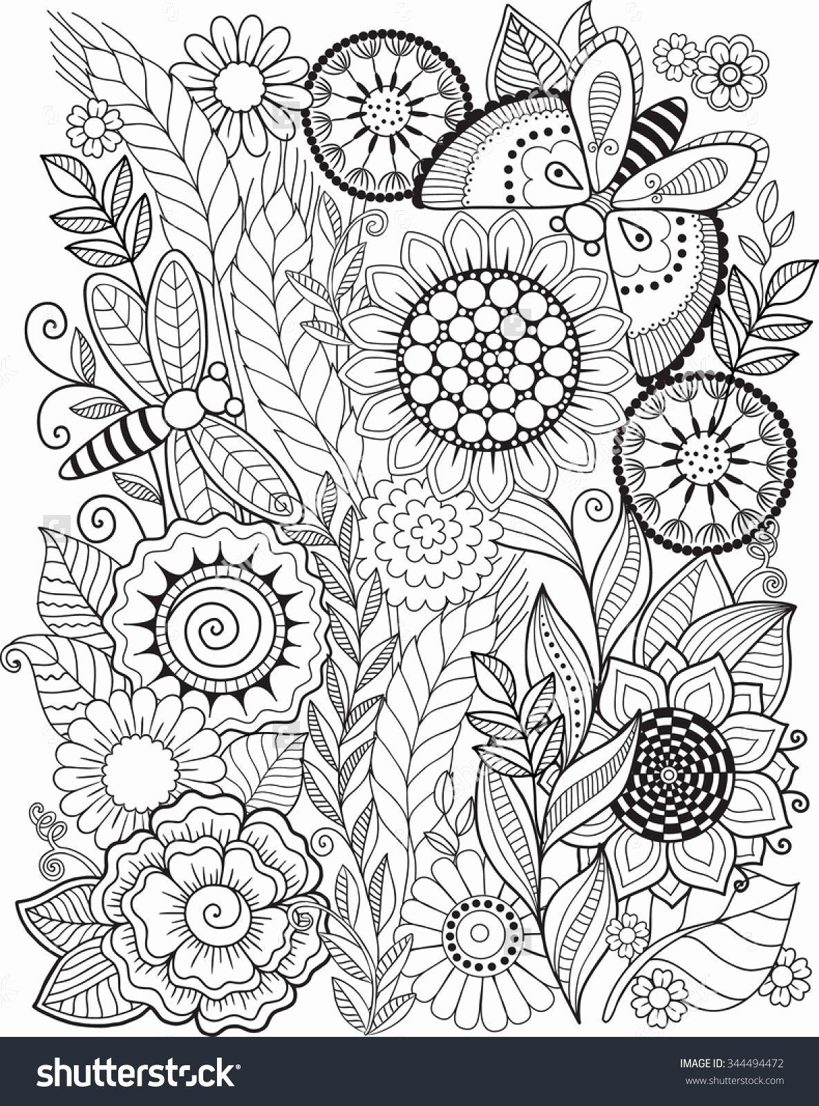 Beach Coloring Page For Adults Summer Coloring Pages For Kids Summer Coloring Pages Mandala Coloring Pages Flower Coloring Pages