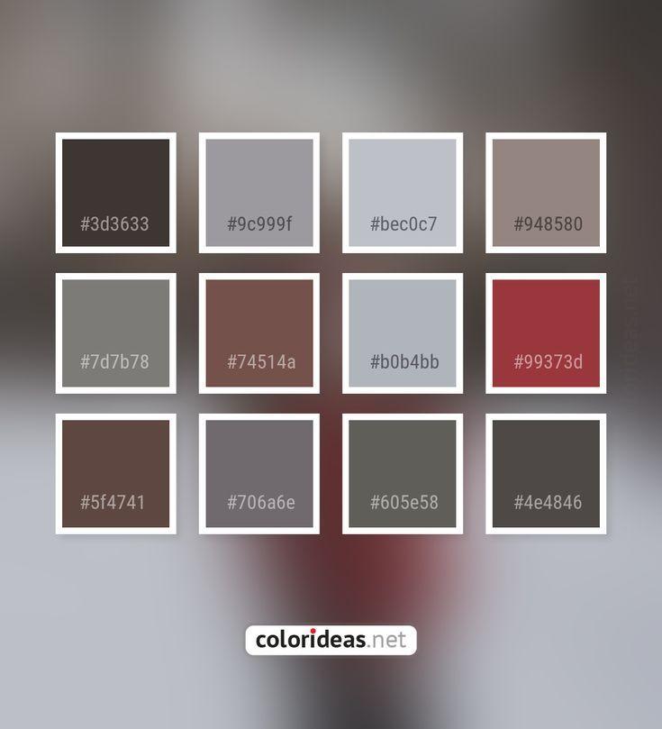 Masala Dark Grey / Smoked 74514A Farbpalette Für Römischen