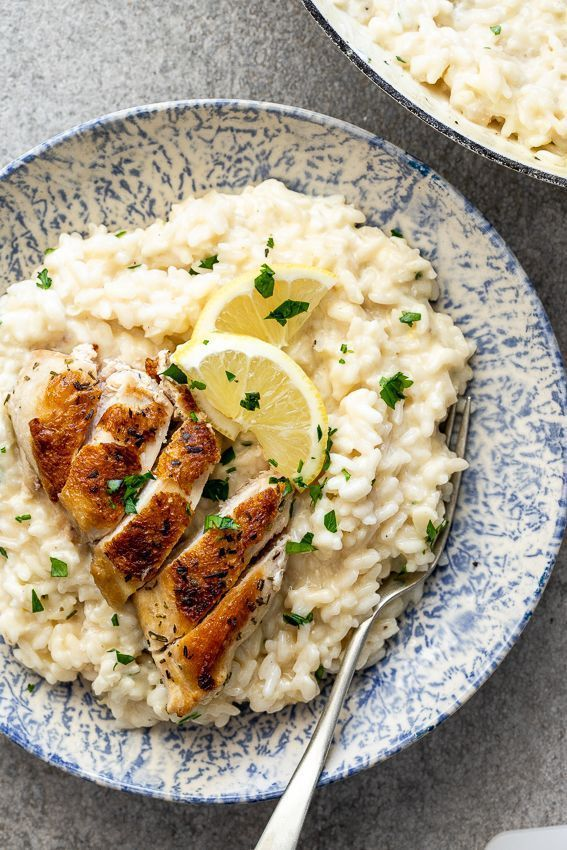 Photo of Lemon Risotto with Roast Chicken – Site Today