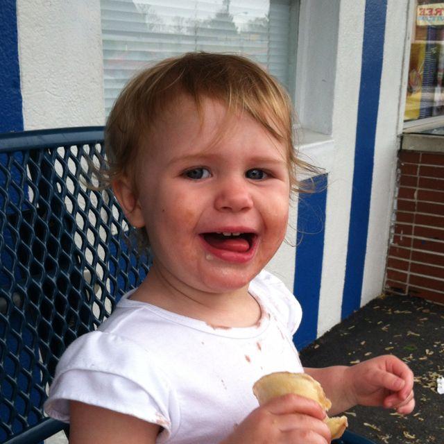 The love of ice cream
