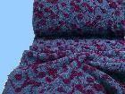 Traumhafter  STRICKSTOFF   mit Blumenmuster (509784) von STOFFLISI auf Etsy