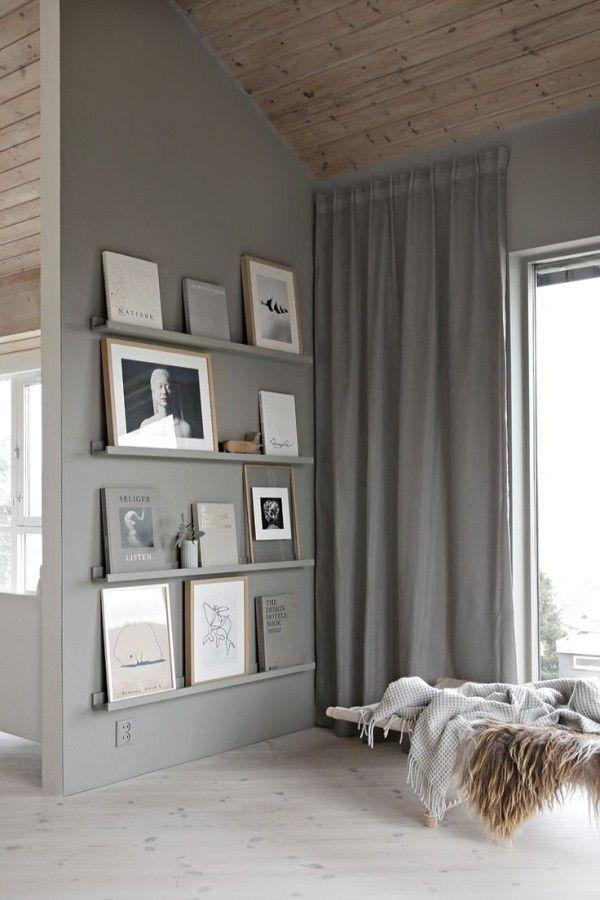regale dekorieren bilder aufhängen ohne bohren