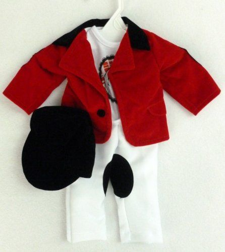 """Equestrian Horse Riding Outfit for 18"""" Dolls: American Girl, Madame Alexander Etc Dollie & Me http://www.amazon.com/dp/B00GJBBY36/ref=cm_sw_r_pi_dp_PVUJtb1NMX86XAEC"""