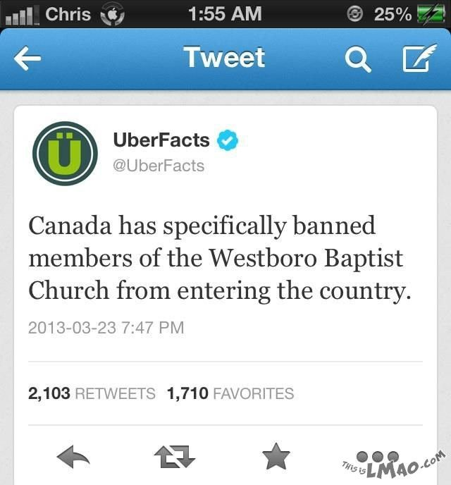 Lawl.. you will love this! Canada