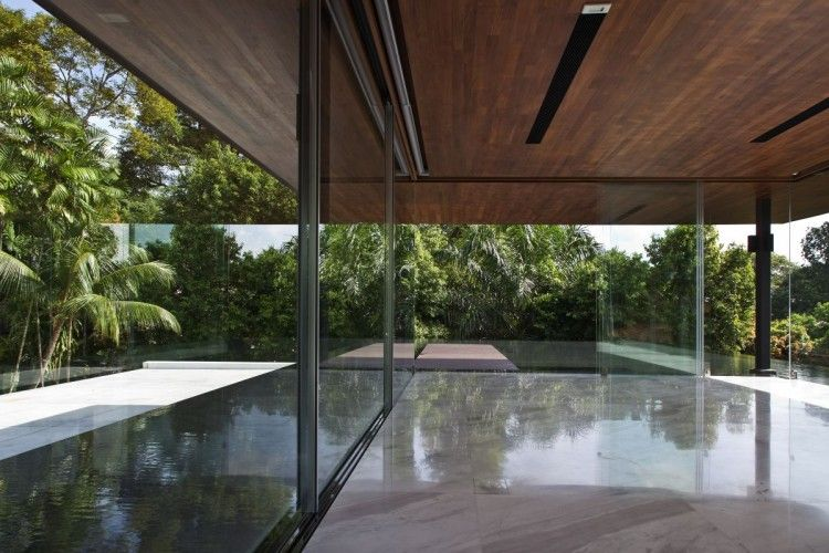 The Water Cooled House By Wallflower Architecture Design