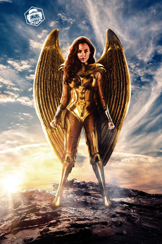 Wonder Woman 1984 Golden Armour Inspired Costume Made To Order In 2020 Wonder Woman Wonder Gal Gadot