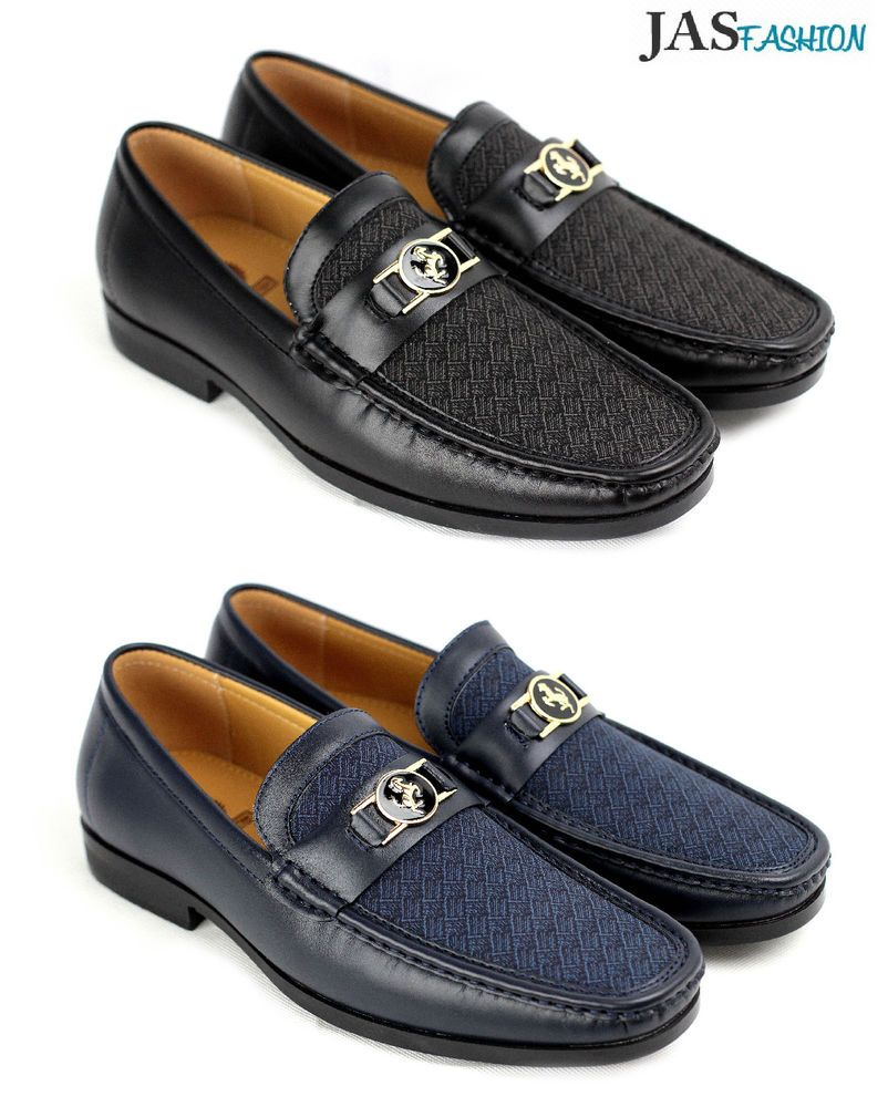 96248253643 Details about Mens Slip On Casual Shoes JAS Designer Loafers Smart ...