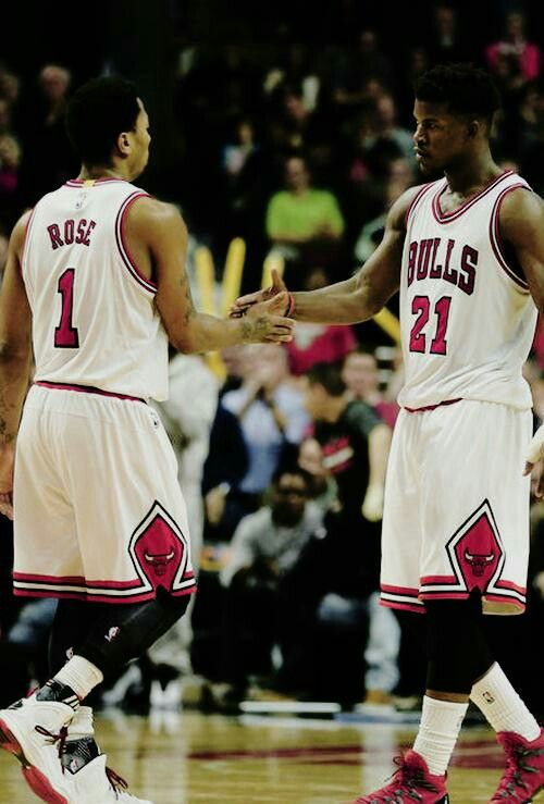 5616c2f2250d Derrick Rose and Jimmy Butler. Yeah