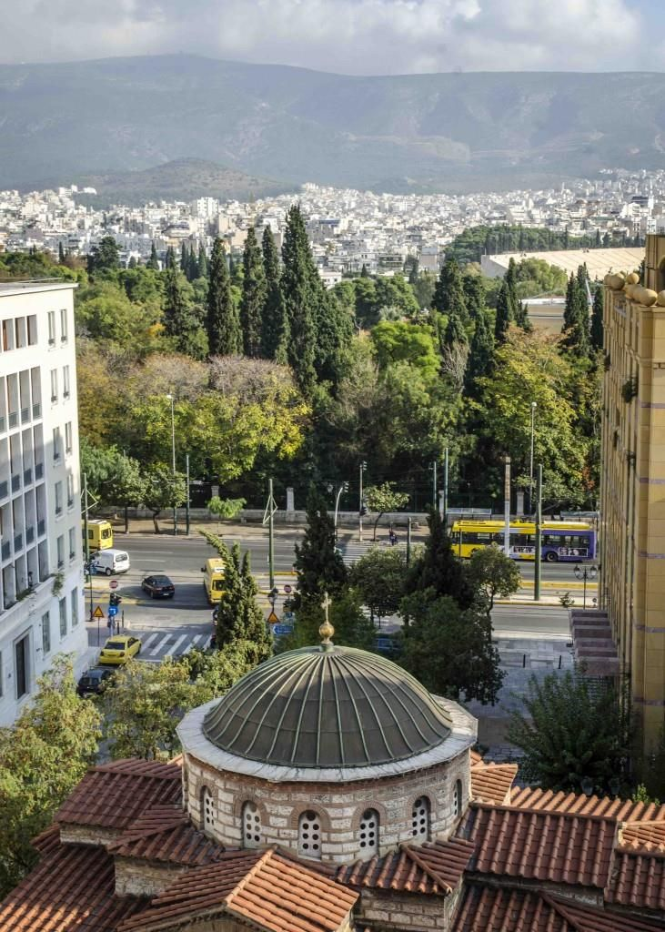 Amazing View Of Athens From New Hotel View Athens Yeshotels