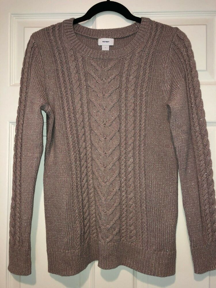 eebc890253a9b Women s Old Navy Fitted Cable Knit Sweater Size L Large NWOT!  fashion   clothing  shoes  accessories  womensclothing  sweaters (ebay link)