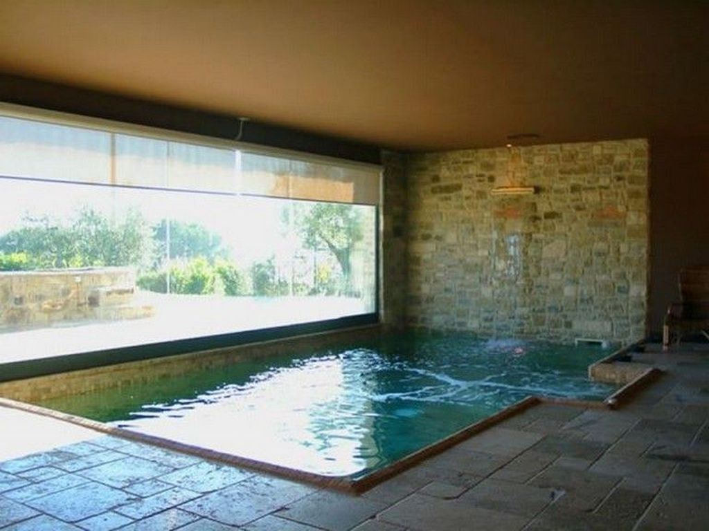 30 Modern Small Swimming Pool Design Ideas For Backyard Trenduhome Small Indoor Pool Indoor Swimming Pool Design Swimming Pool Designs