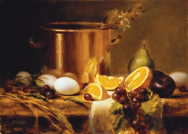 Easily learn how to paint masterpieces like this still for Learn to paint with oils for free
