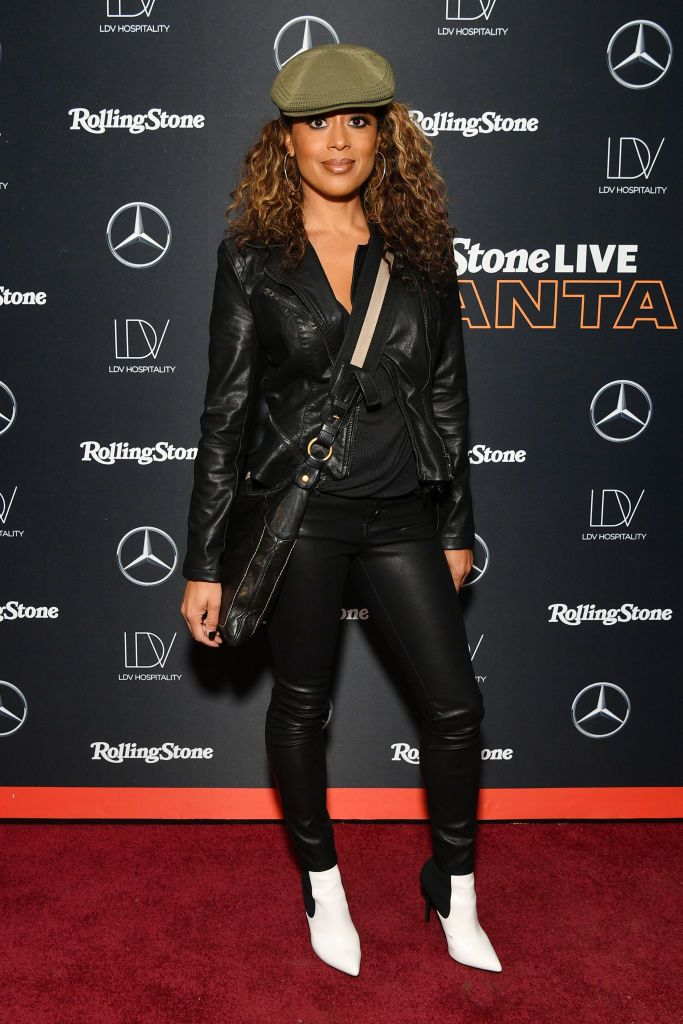 Essence Atkins attends Rolling Stone Live: Atlanta at The Goat Farm...