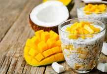 This Coconut Cream Chia Pudding Is Loaded with Probiotics, Antioxidants and Healthy Fats!