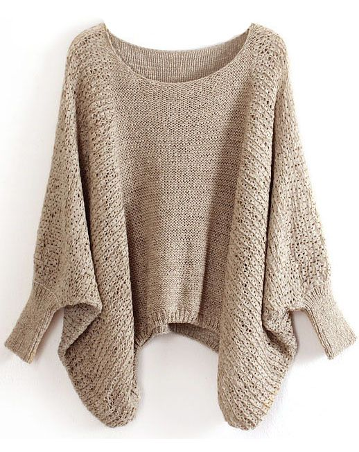 Another lovely oversized sweater. I'm not sure why I want to live ...