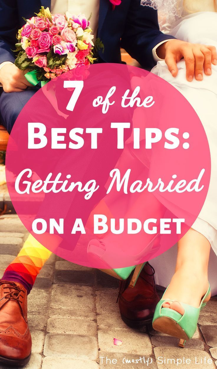 How to Get Married for $1000   Wedding planning on a ...