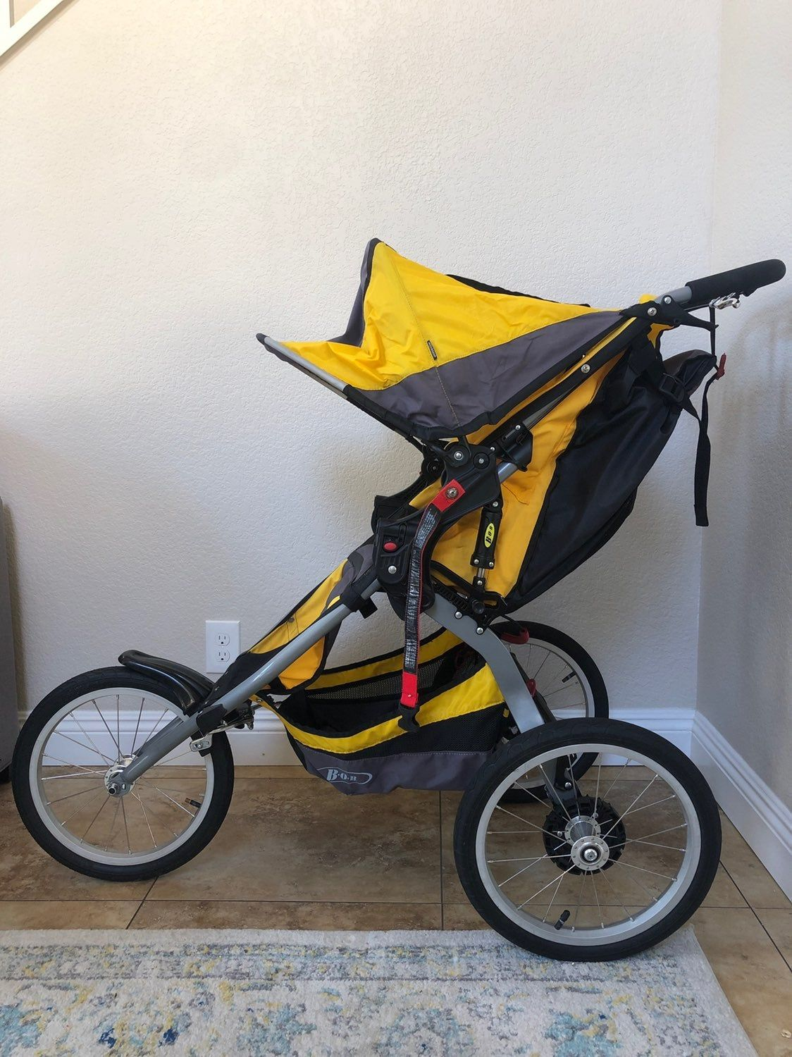 Great Stroller for running! Was selected as the official