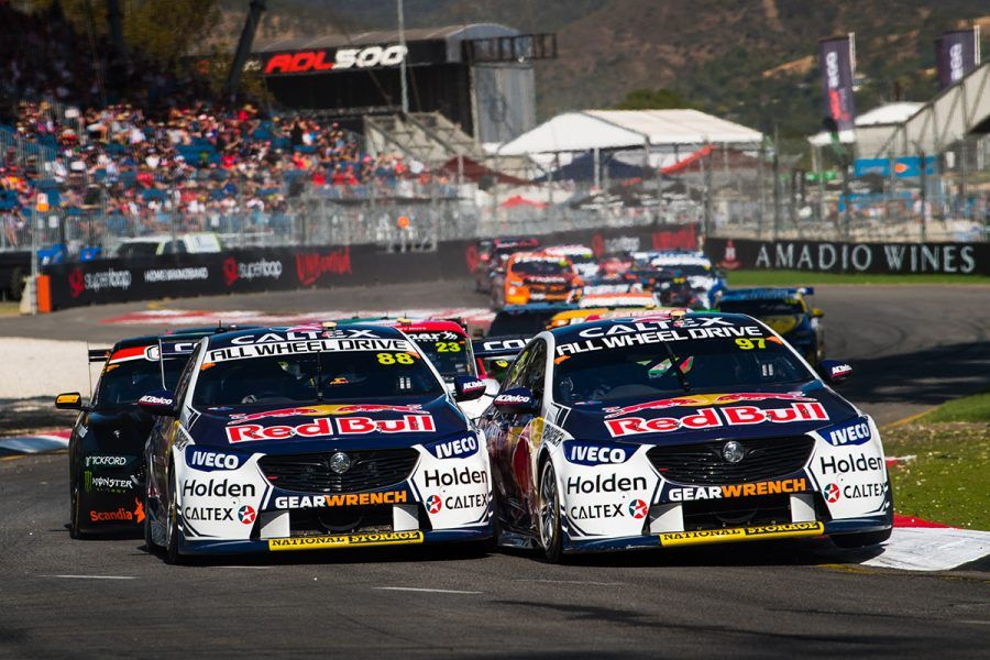 Whincup S Sweet And Sour Podium Supercars Super Cars Australian V8 Supercars Podium